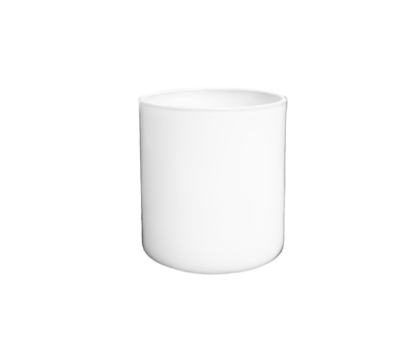 Large Vogue Jar Matte White Luxury Candle Supplies