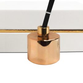 Copper Rose Gold Diffuser Set Luxury Candle Supplies