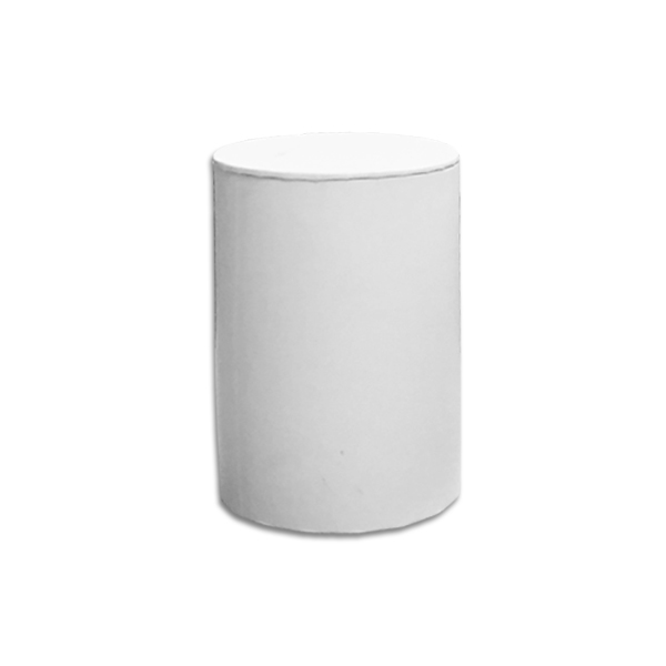 Small Cylinder Box White L4 Luxury Candle Supplies
