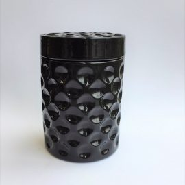 Dimple Black jar