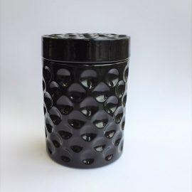 Dimple Black jar