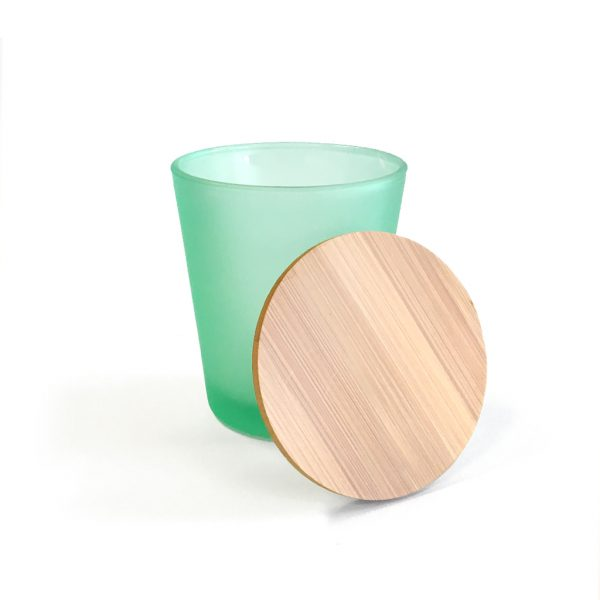 dd1b46afbd9c Bundle – Frosted Green Glass Tumbler & Bamboo Lid