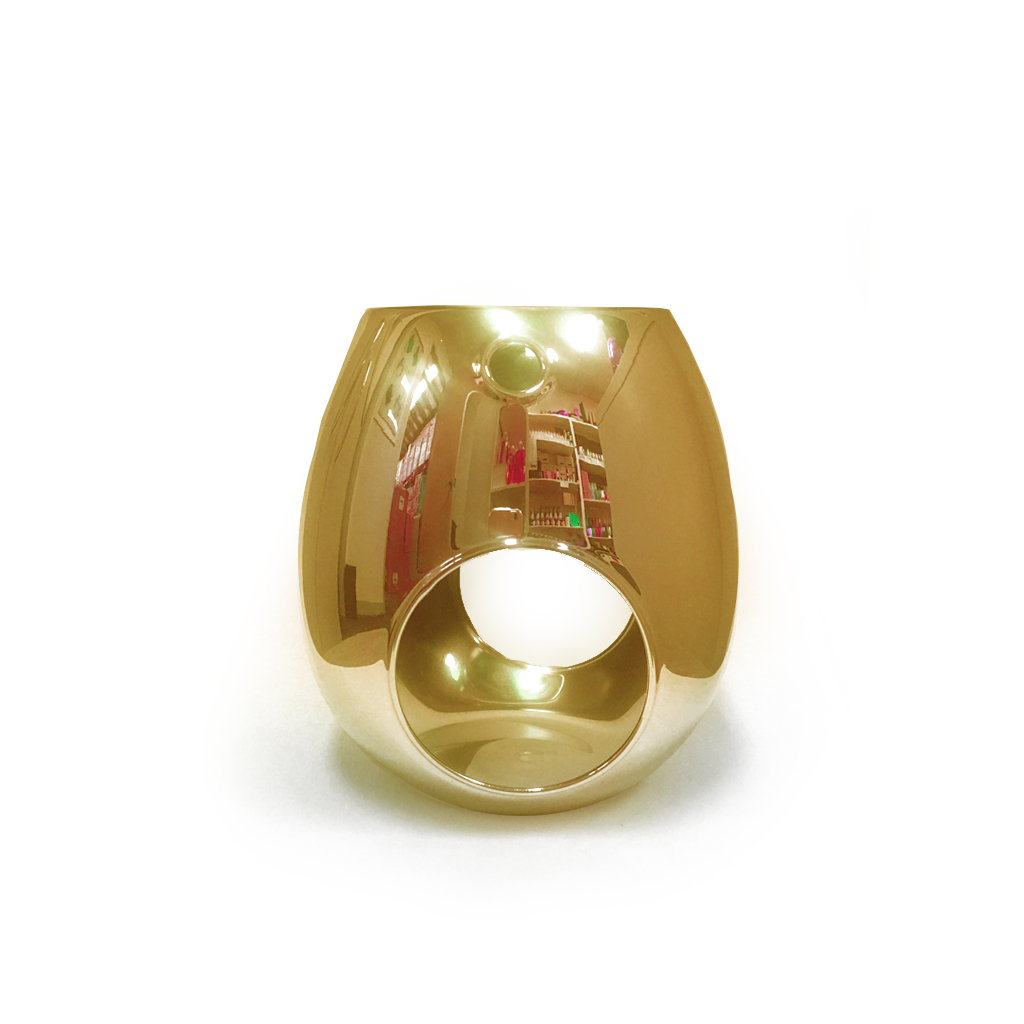 Lcs Melt Burner 02 Gold Luxury Candle Supplies